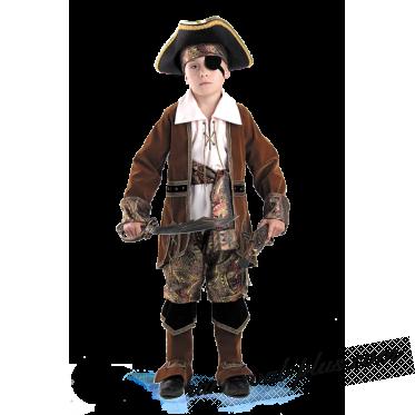 Капитан пиратов (коричневый)