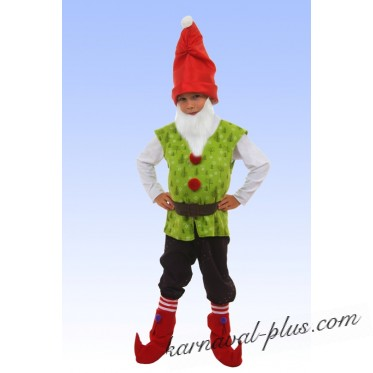 Карнавальный костюм Гномик волшебник