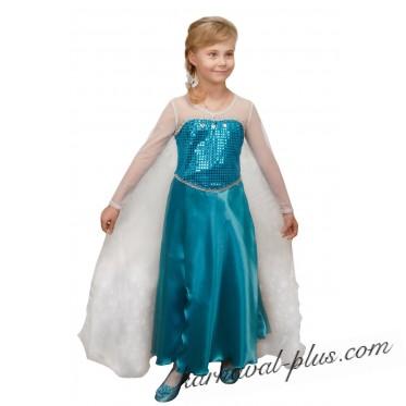 Карнавальный костюм Эльза (Холодное сердце)