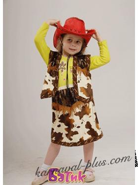 Карнавальный костюм Ковбойка детский