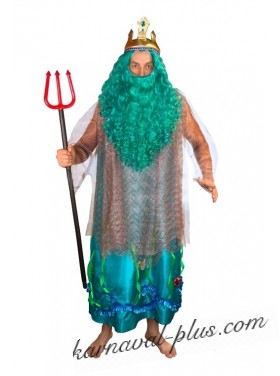 Карнавальный костюм Нептун