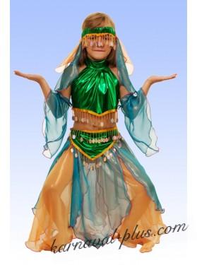 Костюм Шахерезада, цвет изумруд