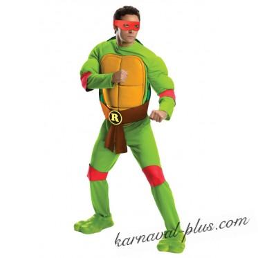 Карнавальный костюм Черепашка Ниндзя Рафаэль