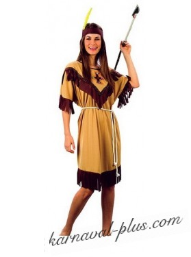 Костюм индейской девушки