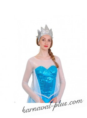 Карнавальный костюм Эльза Холодное Сердце