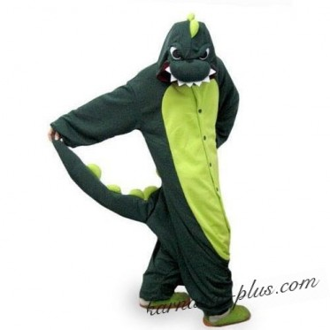 Костюм Кигуруми Зеленый Дракоша