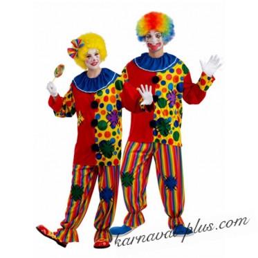 Карнавальный костюм Клоун Унисекс