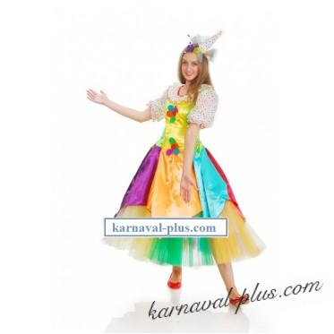 Карнавальный костюм Клоунесса Нехочуха