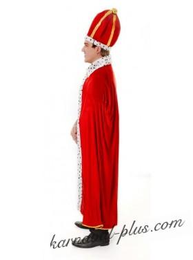 Мантия короля с шапкой