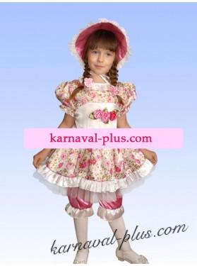 Карнавальный костюм Кукла в шляпе