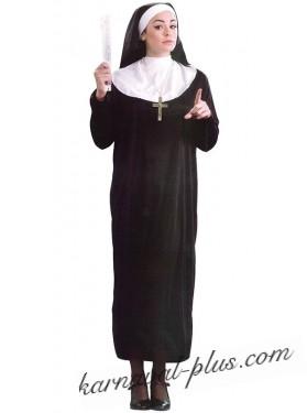 Карнавальный костюм Монашка, р.48-50