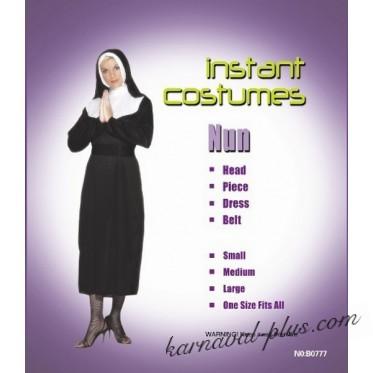 Карнавальный костюм Монашка 2