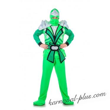 Карнавальный костюм Ниндзяго Зеленый