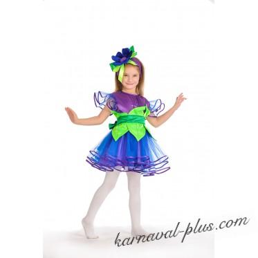 Карнавальный костюм Прекрасная незабудка