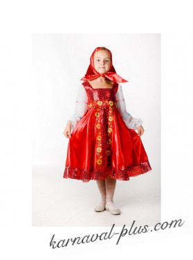 Карнавальный костюм Русская красавица