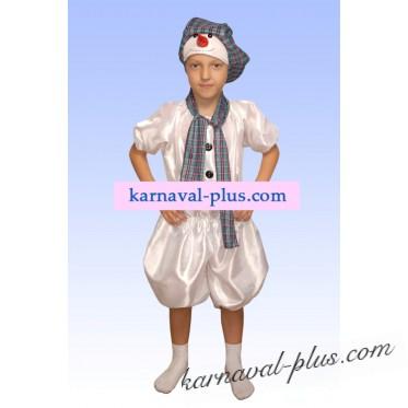 Карнавальный костюм Снеговик 3