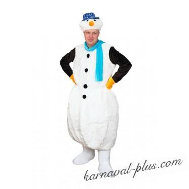 Карнавальный костюм Снеговик Взр.