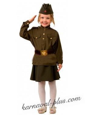 Карнавальный костюм Солдатка