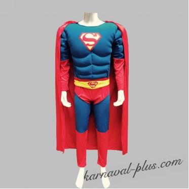 Карнавальный костюм Супермен Взр.
