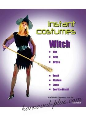 Карнавальный костюм Ведьма, лайт