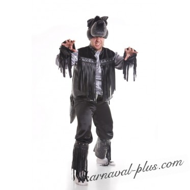 Карнавальный костюм Волк Рокер