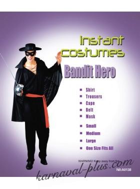 Карнавальный костюм Зорро, мужской