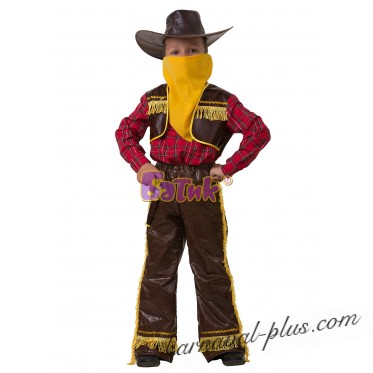Карнавальный костюм Ковбой желтый