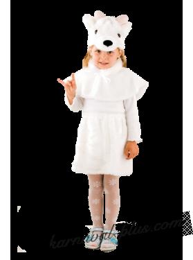 Козочка белая