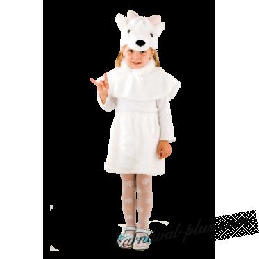 Карнавальный костюм Козочка белая