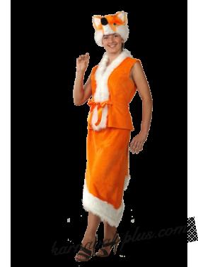 Карнавальный костюм Лиса, женский