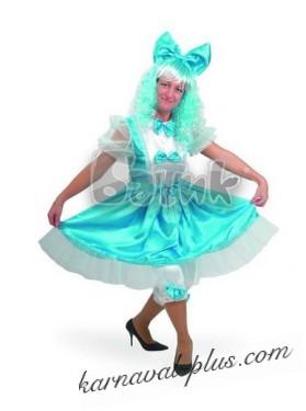 Карнавальный костюм Мальвина женский