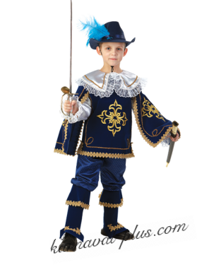 Мушкетер Короля (синий)