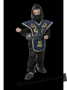 Карнавальный костюм Ниндзя синий