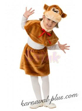 Карнавальный костюм Обезьянка Малышка
