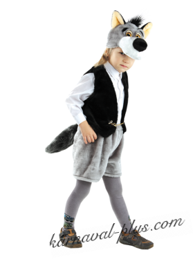 Карнавальный костюм Волк Семен
