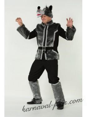 Карнавальный костюм Волк серый