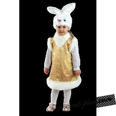 Карнавальный костюм заинька-Лапушка