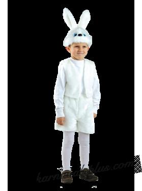 Карнавальный костюм Заяц белый