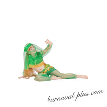 Костюм Жасмин зеленая