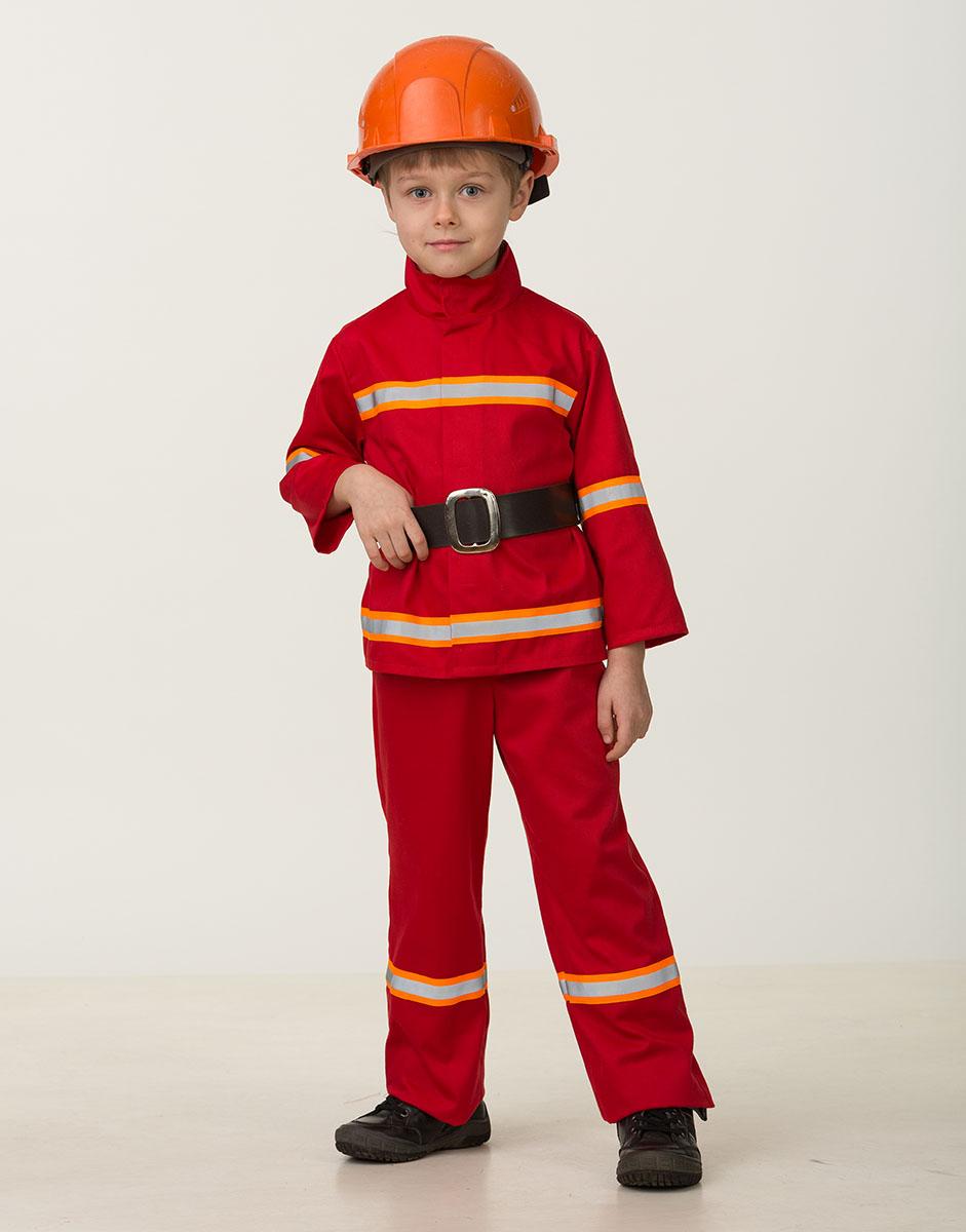 Костюм пожарного своими рук 10