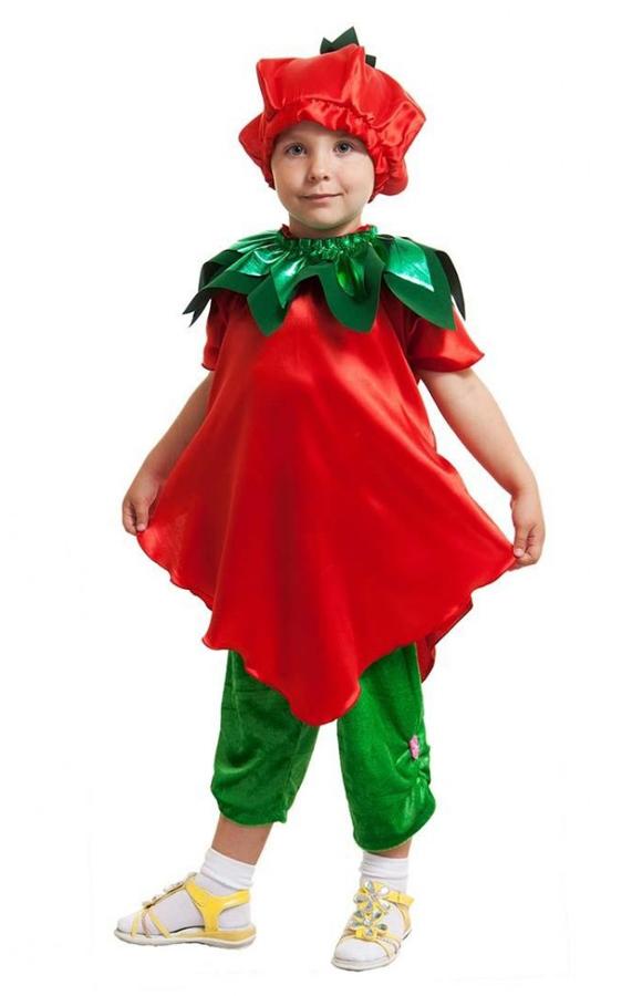 Как сшить карнавальный костюмплатье клубники для девочки
