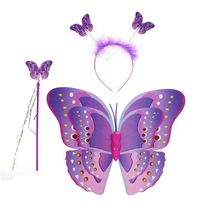Как сделать детские крылья бабочки