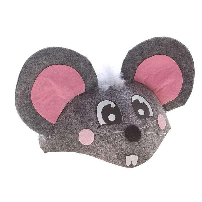 Шапка мыши своими руками