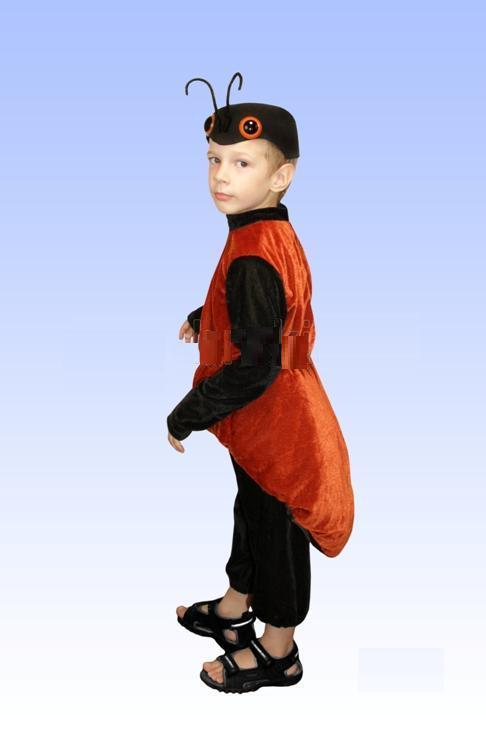 Костюм муравья для мальчика своими руками фото из бумаги 13