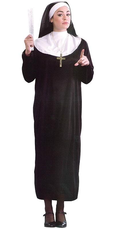Как сшить костюм монашки 19